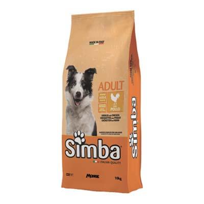 SIMBA CANE CROCCHETTE KG.10 POLLO