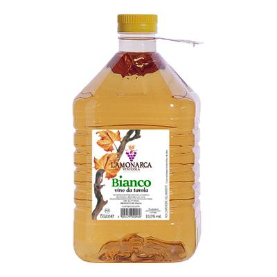 LAMONARCA VINO BIANCO PET LT.5VOL.10,50�