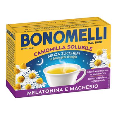 BONOMELLI CAMOMILLA SOLUBILE MEL./MAGNESIO X 16 BS