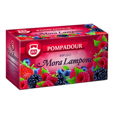 POMPADOUR INFUSO MORA E LAMPONE X20