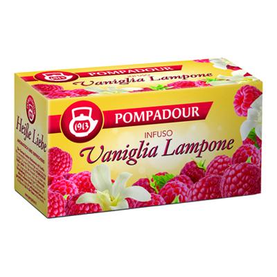 POMPADOUR INFUSO VANIGLIA E LAMPONE X20