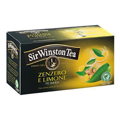 SIR WINSTON TE'NERO ZENZERO/LIMONE X20
