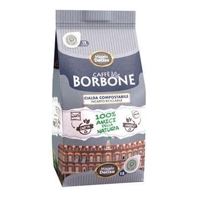 CAFFE'BORBONE CIALDE X15 NERA(ROBUSTA)
