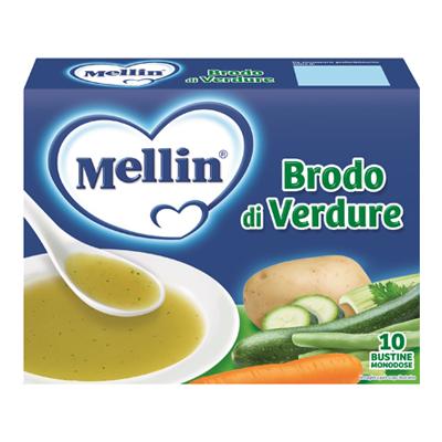 MELLIN BRODO DI VERDURE GR8X10