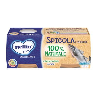 MELLIN OMO GR.80X2 PESCE SPIGOLA