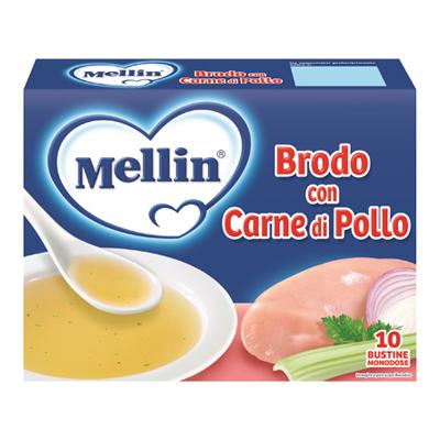 MELLIN BRODO DI POLLO GR.5X10
