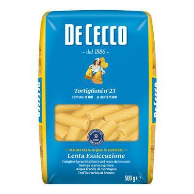 DE CECCO GR.500 TORTIGLIONI N.23