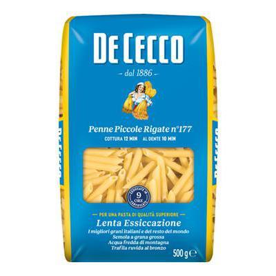 DE CECCO GR.500 PENNE PICCOLERIGATE N.177