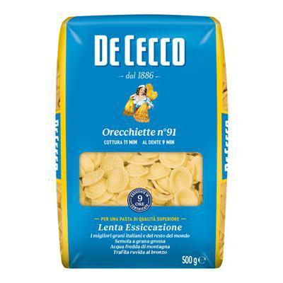 DE CECCO GR.500 ORECCHIETTE N.91