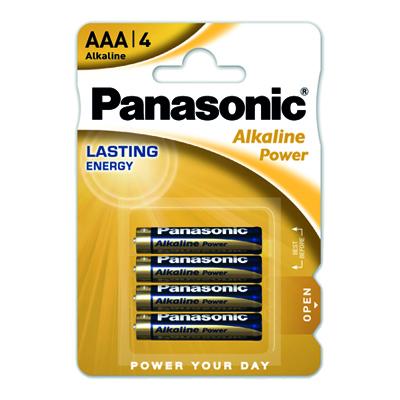 PANASONIC ALKALINE POWER MINISTILO X 4 PZ