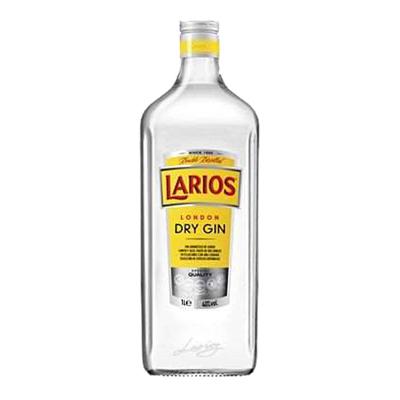 LARIOS DRY GIN LT.1 37.5�
