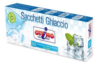 OTTIMO SACCHETTI GHIACCIO X10