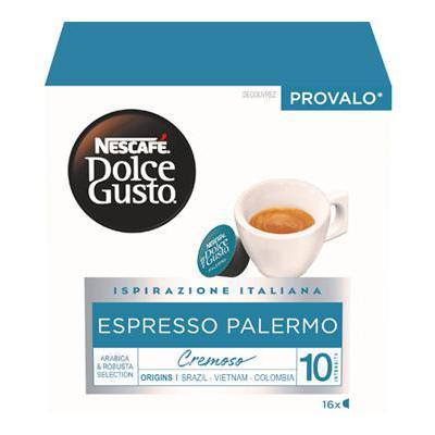 NESCAFE DOLCE GUSTO X16 CAPS ESPRESSO PALERMO