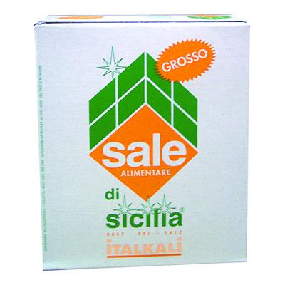 SALE DI SICILIA GROSSO KG.1