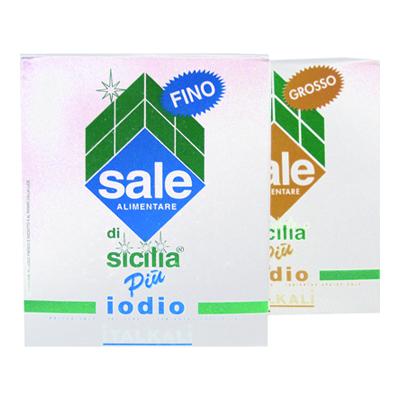 SALE DI SICILIA+IODIO FINO KG1