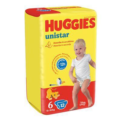 HUGGIES UNISTAR XL TG.6 14PZKG.15-30