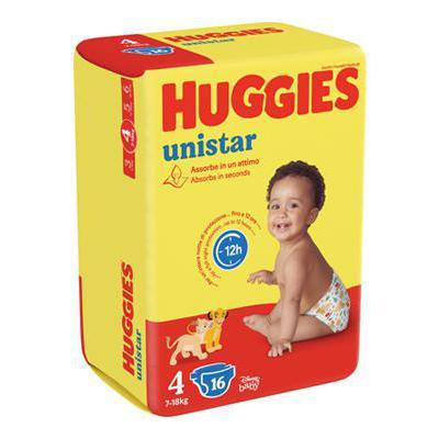 HUGGIES UNISTAR MAXI TG.4 18PZKG.7-18