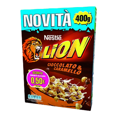 NESTLE' CEREALI LION GR.400
