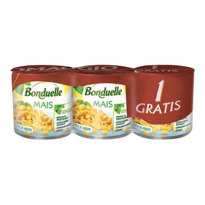 BONDUELLE MAIS GR.300X2+1