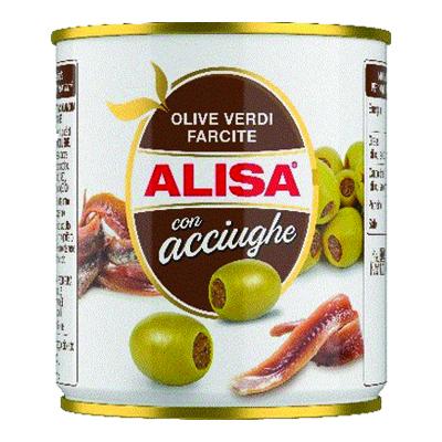 ALISA OLIVE VERDI CON ACCIUGHEGR.200