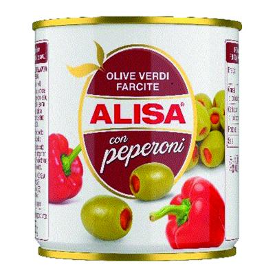 ALISA OLIVE VERDI CON PEPERONIGR.200