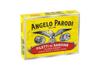 PARODI FILETTI SARDINE OLIO OLIVA GR.105