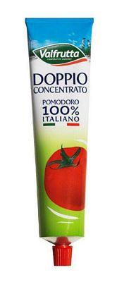 VALFRUTTA DOPPIO CONCENTRATO POMODORO GR.130 TUBO
