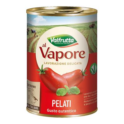VALFRUTTA POMODORI PELATI GR.400