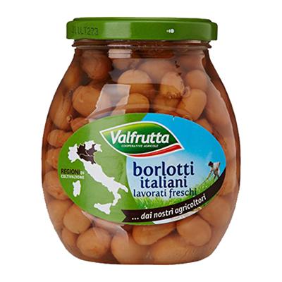 VALFRUTTA BORLOTTI GR.360VETRO