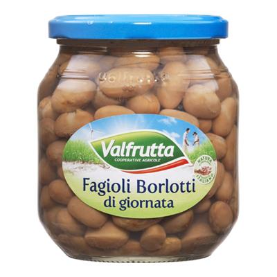 VALFRUTTA BORLOTTI GR.580 VETRO