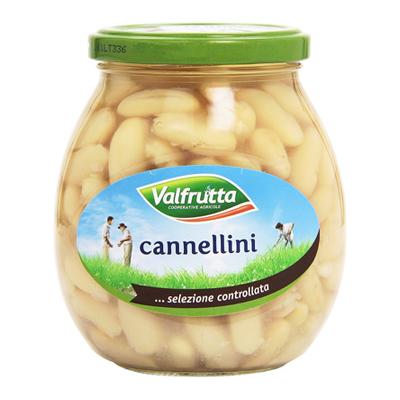 VALFRUTTA CANNELLINI VETRO GR.360