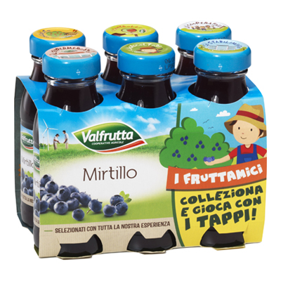 VALFRUTTA ML.125X6 MIRTILLO