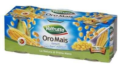 VALFRUTTA OROMAIS GR160X3 SENZA ZUCCHERO