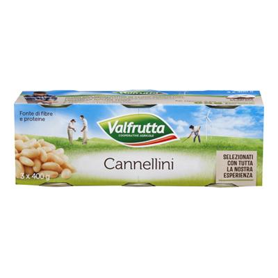 VALFRUTTA CANNELLINI GR.400X3