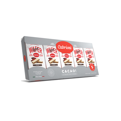CABRIONI WAFER GR.45X5 CACAOMULTIPACK
