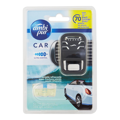 AMBI PUR CAR STARTER KIT BASEAQUA ML.7