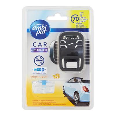 AMBI PUR CAR STARTER KIT ANTITABACCO/AQUA/VOYAGE