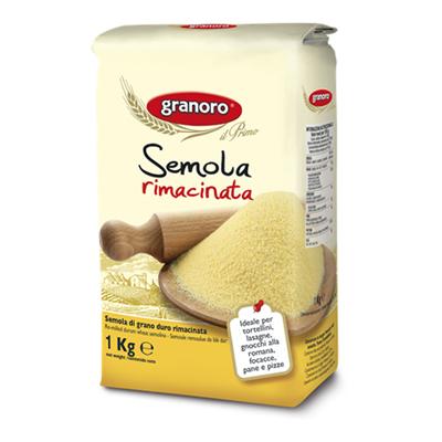 GRANORO SEMOLA RIMACINATA KG.1