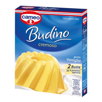 CAMEO BUDINO CREMA VANIGLIA X2 GR.130