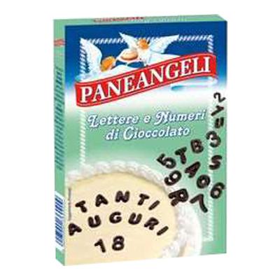 PANEANGELI LETTERE E NUMERI CIOCCOLATO GR.60