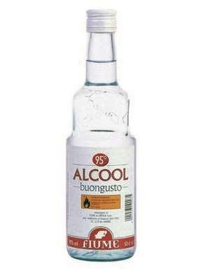 FIUME ALCOOL BUONGUSTO CL.50 95�