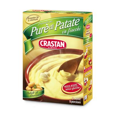 CRASTAN PURE PATATE FIOCCHI GR.225 SENZA OLIO DI PALMA