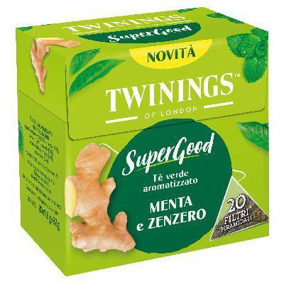 TWININGS 20 FILTRI MENTA/ZENZERO GR.32