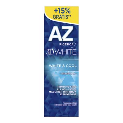 AZ DENTIFRICIO ML.65+10 3D WHITE & COOL