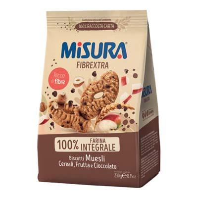 MISURA FROLLINO GR.230 MUESLIFIBRE EXTRA