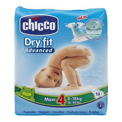 CHICCO DRY FIT ADVANCED MAXI 48-18 KG.