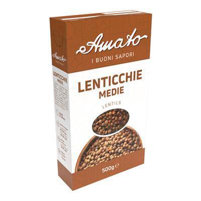 AMATO LENTICCHIE MEDIE GR.500ASTUCCIO