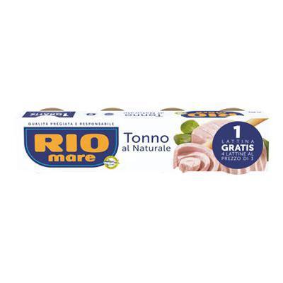 RIO MARE TONNO GR.80X4 NATURALE