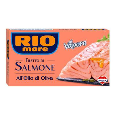 RIO MARE FILETTI SALMONE GR.150 OLIO OLIVA
