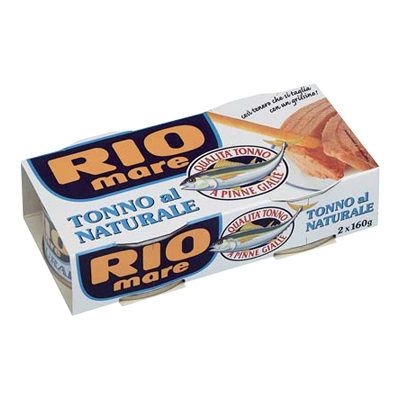 RIO MARE TONNO GR.160X2 NATURALE